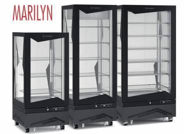 Новая линейка вертикальных витрин Tecfrigo Marilyn